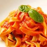 スパゲッティ トマトバジル