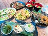 【2時間飲放題/お手軽】ゴーヤーチャンプルーなど定番沖縄料理を楽しむ「ハイサイコース」(7品)3,980円