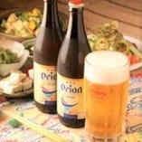 泡盛やオリオンビールで乾杯