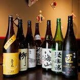 ◆お酒◆ 京都の銘柄をはじめ全国から仕入れる選りすぐりの地酒