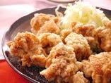 鶏の唐揚げ塩味