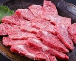 黒毛和牛の特選焼肉もいろいろな部位が楽しめます!