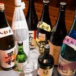 日本酒・焼酎も豊富なラインナップ!お好みで注文ください
