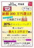 <超PayPay祭!総額200万円還元>