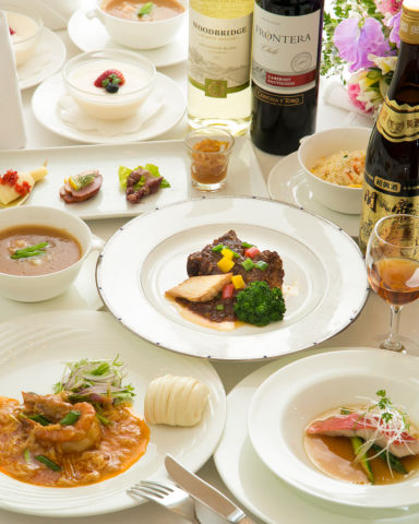 榮鳳 チャイニーズレストラン  コースの画像