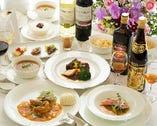 会食、法事、各種お祝い事等に最適なコースメニューをご用意