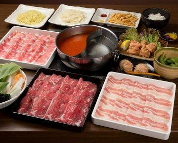 定番【90分食べ放題】京コース(牛肉、豚肉が食べ放題)