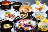 フランス料理、日本料理、和洋折衷料理、各種お弁当も承ります