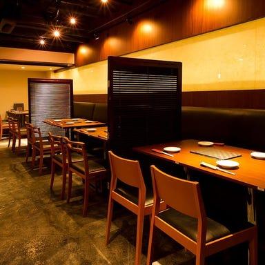 和モダン空間・旬の鮮魚と地酒 銀座日向 店内の画像