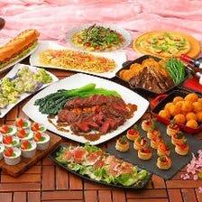 【★SPRING PARTY★】選べるお肉料理★9品5900円