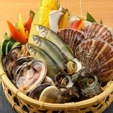 海鮮BBQプラン