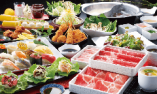 【寿司・牛しゃぶしゃぶ・串揚げ食べ放題コース】