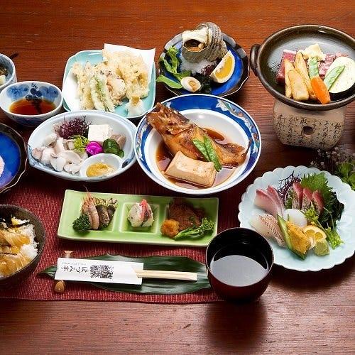 ◆本格和食を堪能できる会席コース