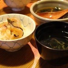 ◆鯛飯をはじめとした宇和島郷土料理