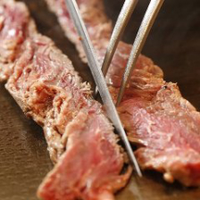 牛ヒレ紐肉の一本焼き(ごっつい秘伝のタレ)【一頭からわずか約600gしか取れない希少部位】