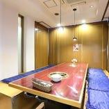 様々な人数様に対応可能な個室をご用意しております。