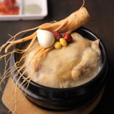 自家製 薬膳 参鶏湯(サムゲタン)