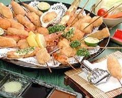 本格串カツと鍋料理 角栄