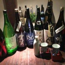100種類以上の日本酒