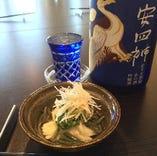 オーナー厳選京都の日本酒や焼酎もたくさんございます。飲み放題