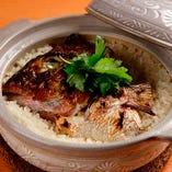 名物!鯛飯土鍋