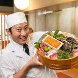 全国から仕入れる、日替わりの鮮魚を気軽にお楽しみください!