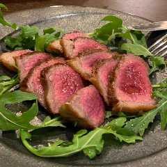 黒毛和牛イチボのステーキ