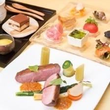 【menu C】お魚とお肉のWメインのレギュラーコース