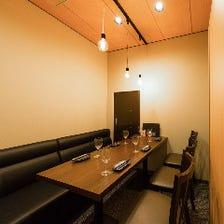 人気のお席♪ソファ席の完全個室