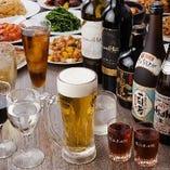 【飲み放題】 宴を盛り上げる飲み放題は単品でのご注文も可能