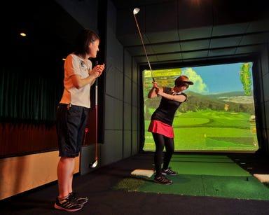 ゴルフバー&ダイニング 新橋ゴルフスタジオ コースの画像