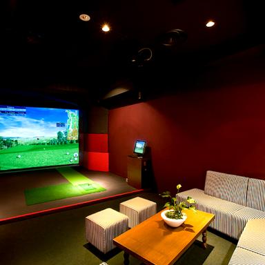 ゴルフバー&ダイニング 新橋ゴルフスタジオ 店内の画像