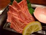 大阪2ブランド牛のステーキ