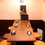 【テーブル席】2名~6名様