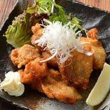 鶏唐揚げ (旨醤油)