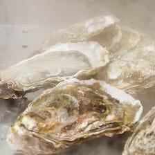本日の◯◯産酒蒸し仕立て半生牡蠣