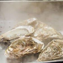 その日最良の産地から仕入れる活牡蠣