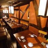 テーブル席半個室(15名様~24名様)