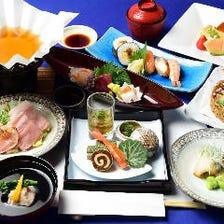 職人による本格会席料理のベーシックなコース「会席料理5,000円(税抜)コース」