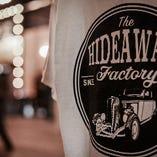 当店のホットロッドをモチーフにしたオリジナルTシャツ。販売もしています♪