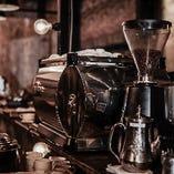 当店は、la marzoccoを使用。こだわりのコーヒをお召し上がりください。
