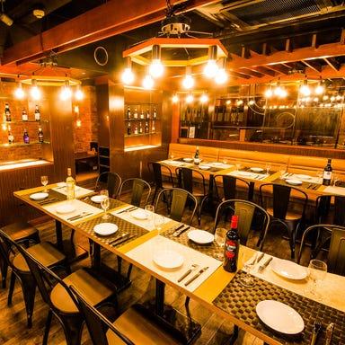 個室肉バル×食べ放題 アモーレ 立川北口店 店内の画像
