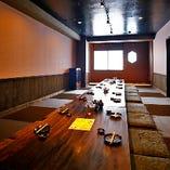 《宴会個室》 座敷で仲間と鍋を囲めば、親睦が深まる宴会に