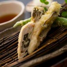 新鮮な素材の旨みを凝縮した天ぷら
