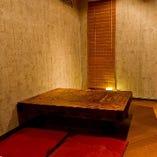 オシャレダイニングの半個室で、ゆっくりとした時間を!