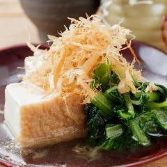 小松菜と厚揚げのおひたし