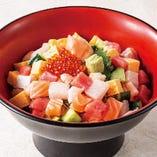海鮮バラちらし丼セット