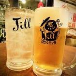 オリジナルドリンク『ジルハイボール』や生ビール【各地】