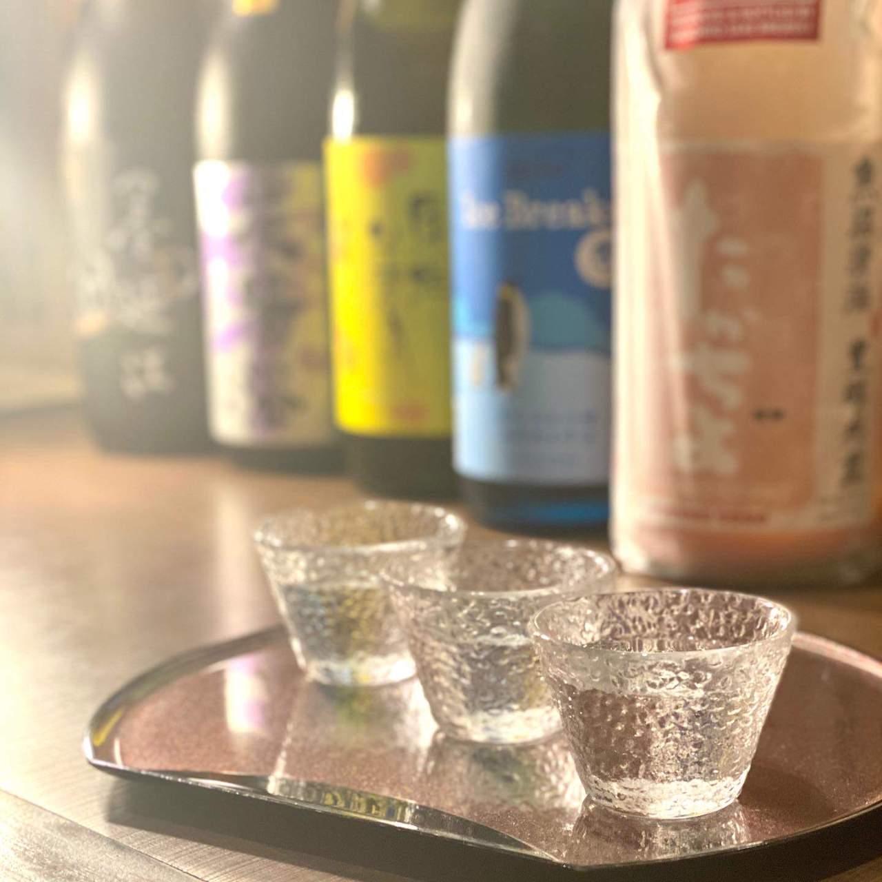 季節の日本酒を楽しむ