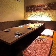 くつろぎの完全個室